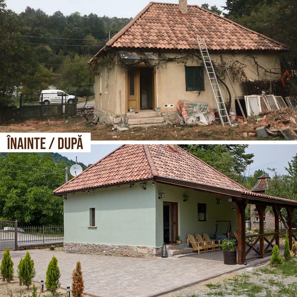 Constructie - renovare casa moneasa, echipa Lazar Construct